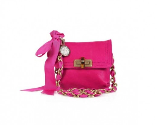 Lanvin Mini Pop leather shoulder bag