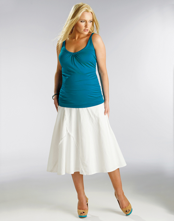 Latest Maternity Skirt Designs