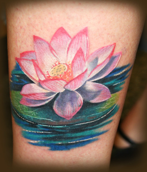 35 Stunning Lotus Flower Tattoo Design: 35 Delightful Lotus Flower Tattoo Designs Pictures