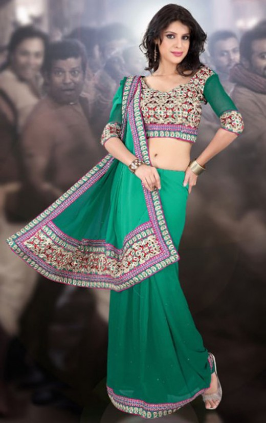 Party Saree Collection 2012