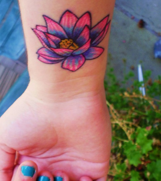 35 Delightful Lotus Flower Tattoo Designs Pictures  ShePlanet