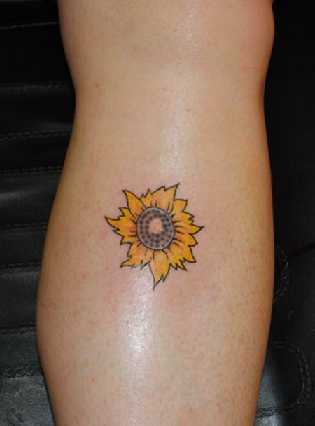 30 Realistic Sunflower Tattoo Designs Sheplanet