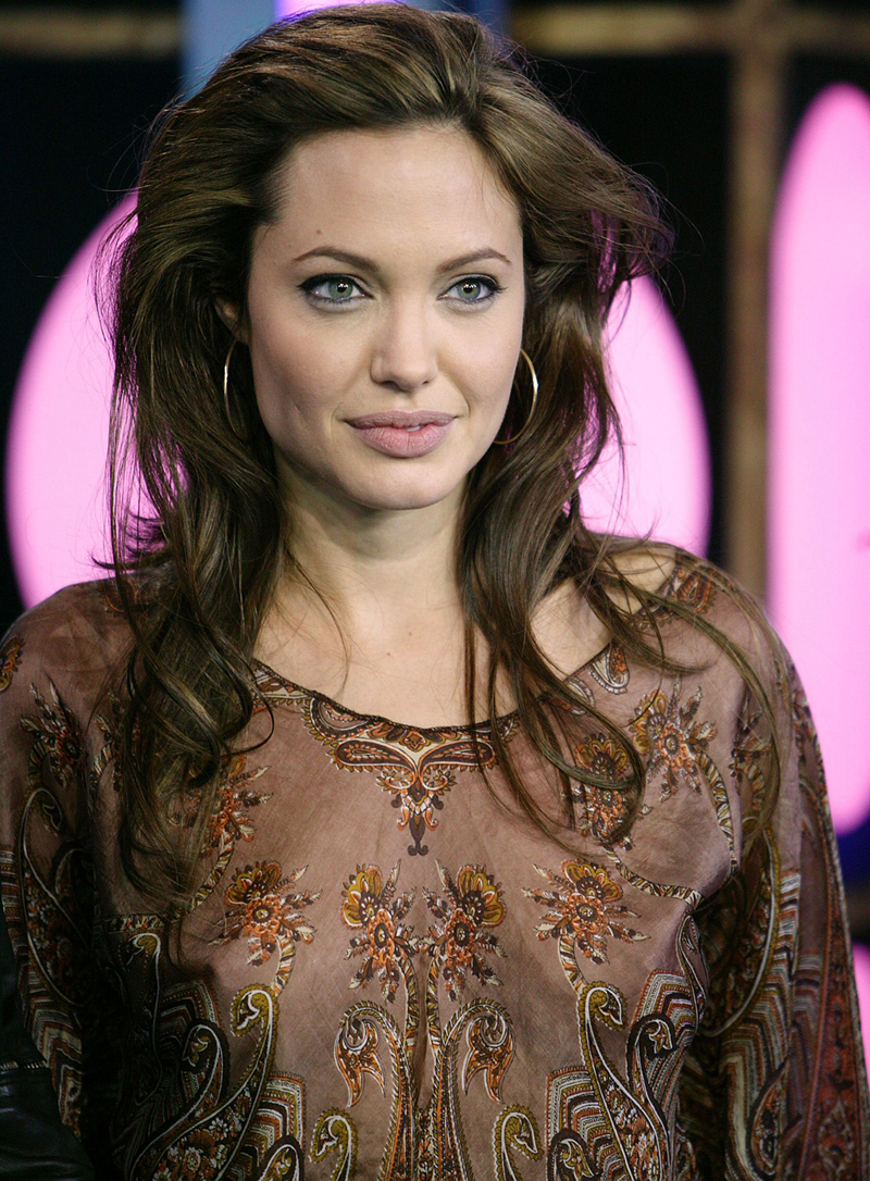 24 Popular Celebrity Angelina Jolie Hairstyles Ideas