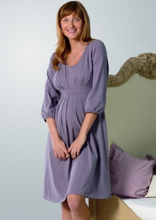 Maternity Sleeping Dress Designs