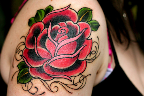 15 Pretty Rose Tattoo Designs Showcase - ShePlanet