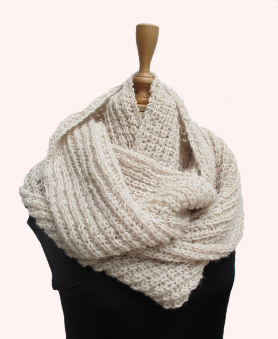 Magnificent Hand Knitted Scarves Patterns Photos - Blanket Knitting ...