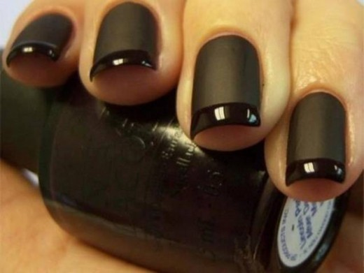 15 heart stopping nail art designs for eid 2012 sheplanet awesome black nail art fashion for eid 2012 prinsesfo Images