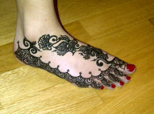 Feet Mehndi For Eid : Pakistani eid feet mehndi designs sheplanet