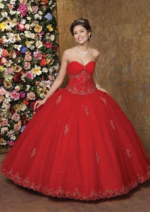 Red Ball Gown Wedding Dresses 2012 ShePlanet