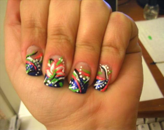 Nail design ideas easy pics photos diy nail art designs simple nail ideas for beginners prinsesfo Image collections