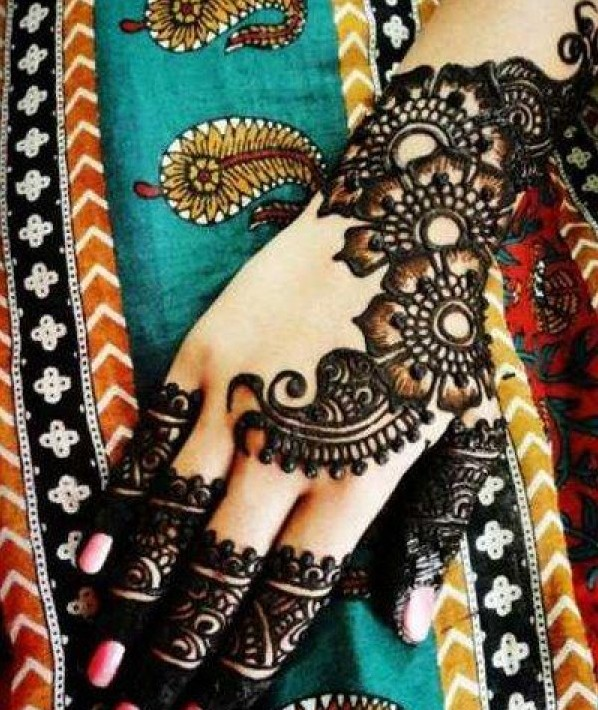 Latest Arabic Eid Mehndi Designs Best For Hand 2 Pictures
