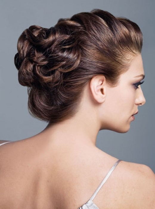 Trendy wedding updos hairstyles for brides 2012 sheplanet new wedding updo hairstyle with long hair pmusecretfo Choice Image