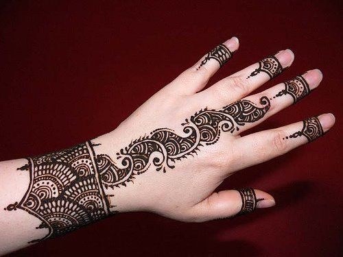 Mehndi Designs For Party : Latest party mehndi designs sheplanet