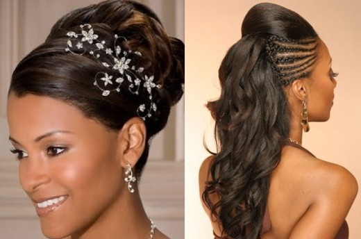 Black Women Hairstyle for Wedding 2016