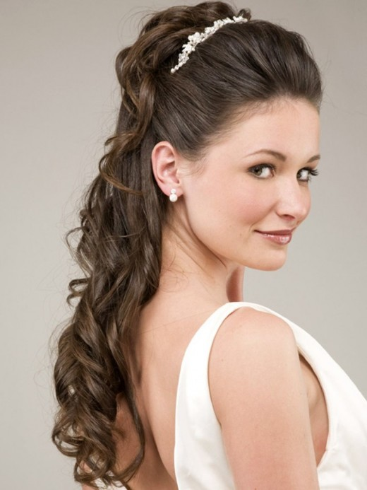 Cool Long Hairstyles for Brides 2016