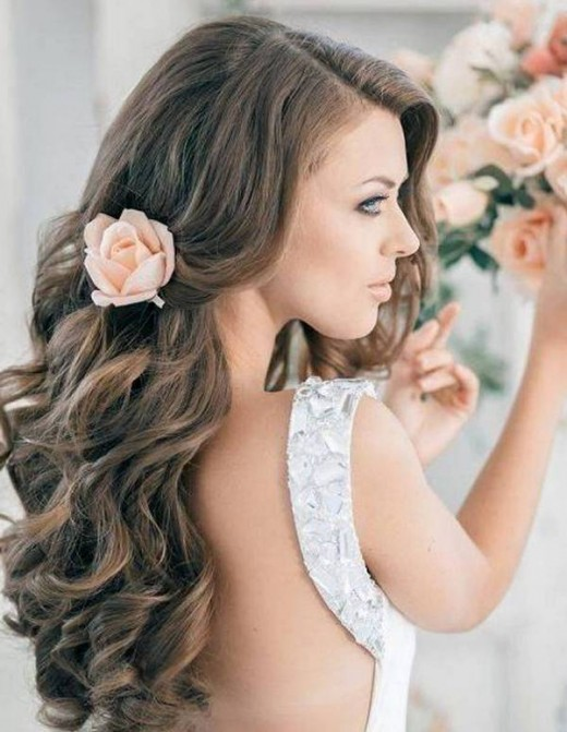 Latest Bridal Hairstyles for Wedding 2016