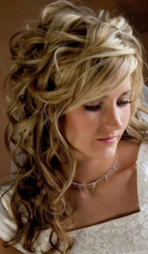 Shoulder Length Wedding Hairstyles 2016