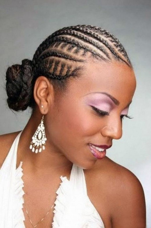Stylish Wedding Hairstyles African Brides