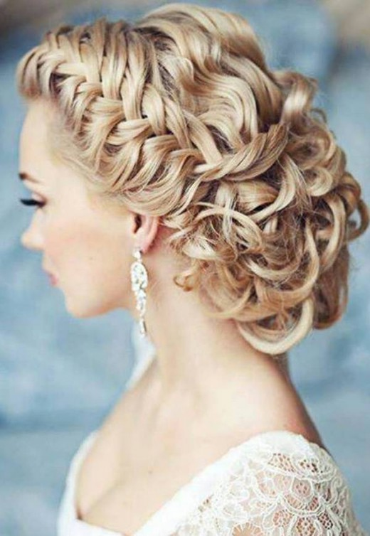 Wonderful Bridal Chain Hairstyles 2016