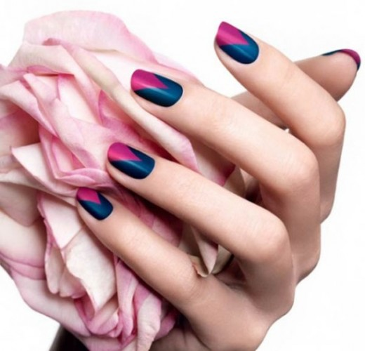 20 easy nail art ideas for summer 2018 sheplanet easy v shaped nail art designs for summer prinsesfo Images