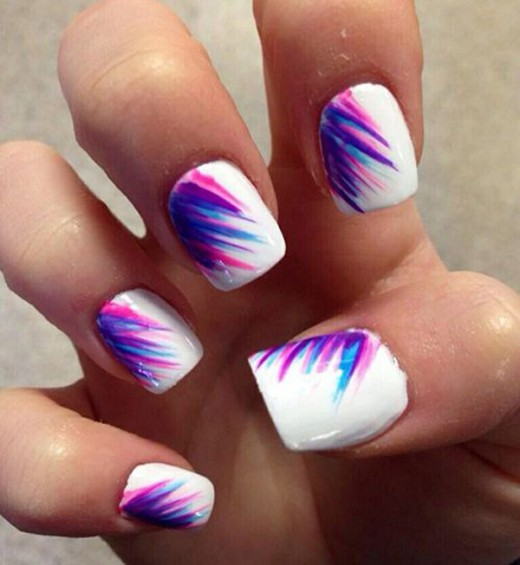 20 Easy Nail Art Ideas For Summer 2018 Sheplanet