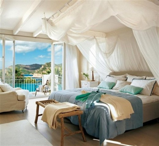 Attractive Beach House Bedroom Design Ideas